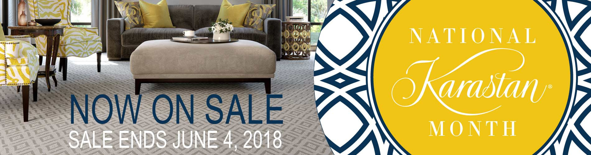 National Karastan Month | Sale Ends June 4, 2018